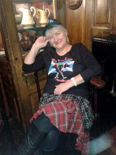Rita Bradd, The Globe Inn, Dumfries 25012015 1422617365582