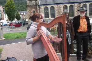 Me at Callander Poetry Weekend 2013